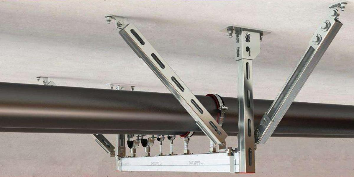 抗震支吊架的使用范围越来越广